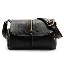 High Quality Women Shoulder Bag Genuine Leather Women s Tote Handbag Casual Vintage Crossbody Ladies Travel