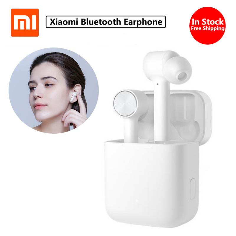 In Stock Xiaomi Wireless Earphone Air Bluetooth TWS True Active Noise Cancelling Smart Touch Bilateral Call Wireless Earbuds-in Smart Remote Control from Consumer Electronics    1