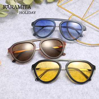 2f967d97ce Faramita Vintage clásico Rock Punk Street mujeres hombres gafas de sol  redondas más gafas de sol de regalo de vacaciones 2019 nuevo espejo de  llegada