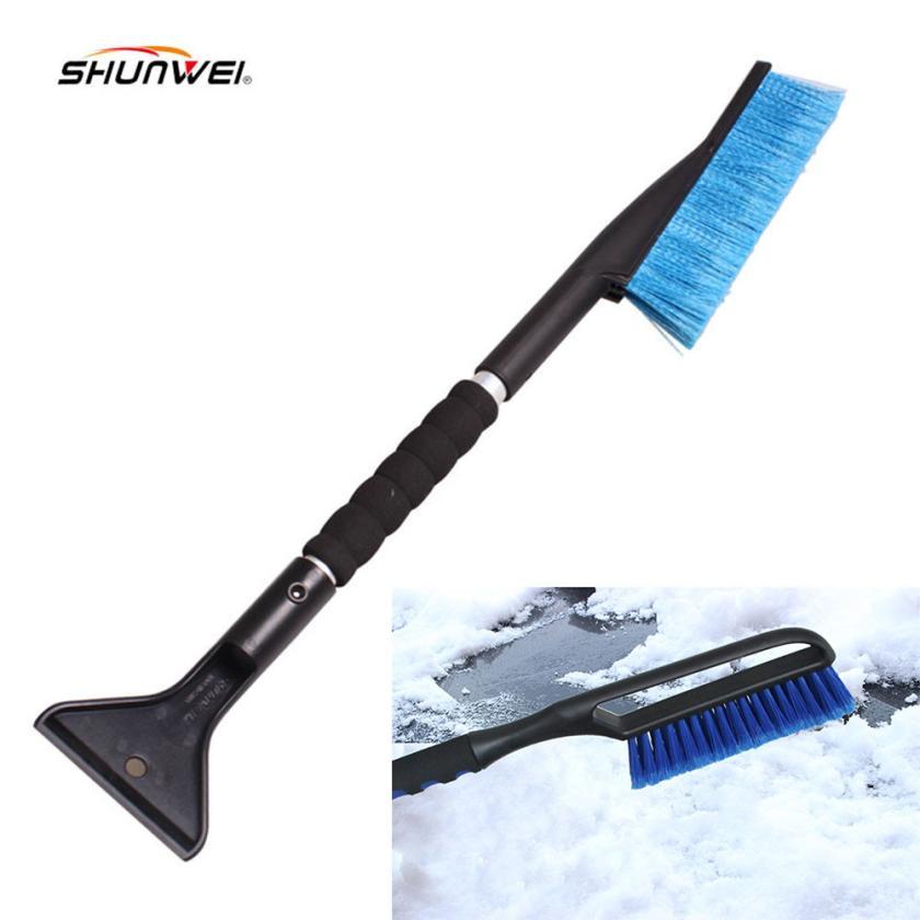 New Arrival Car vehicle Snow Ice Scraper SnoBroom Snowbrush Shovel Removal Brush Winter or19