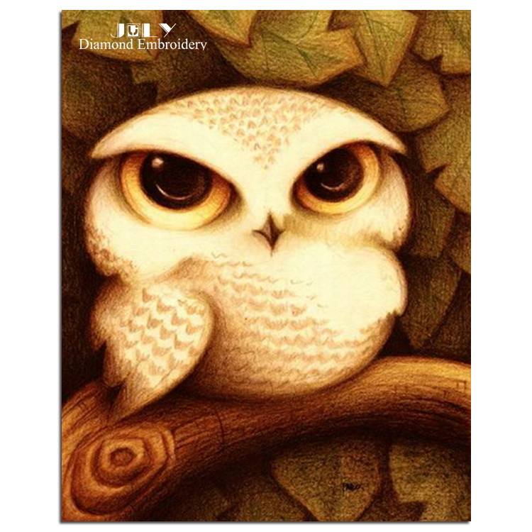 Pictures For Needlework Cartoons Animals Lovely Cute Owls