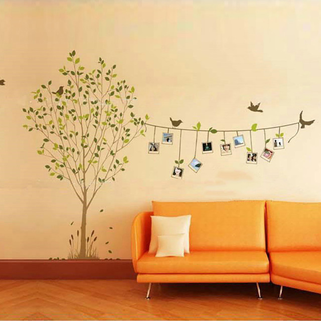 3D DIY Tree Wall Stickers Hope Removable Adhesive Vinyl Mural Art ...