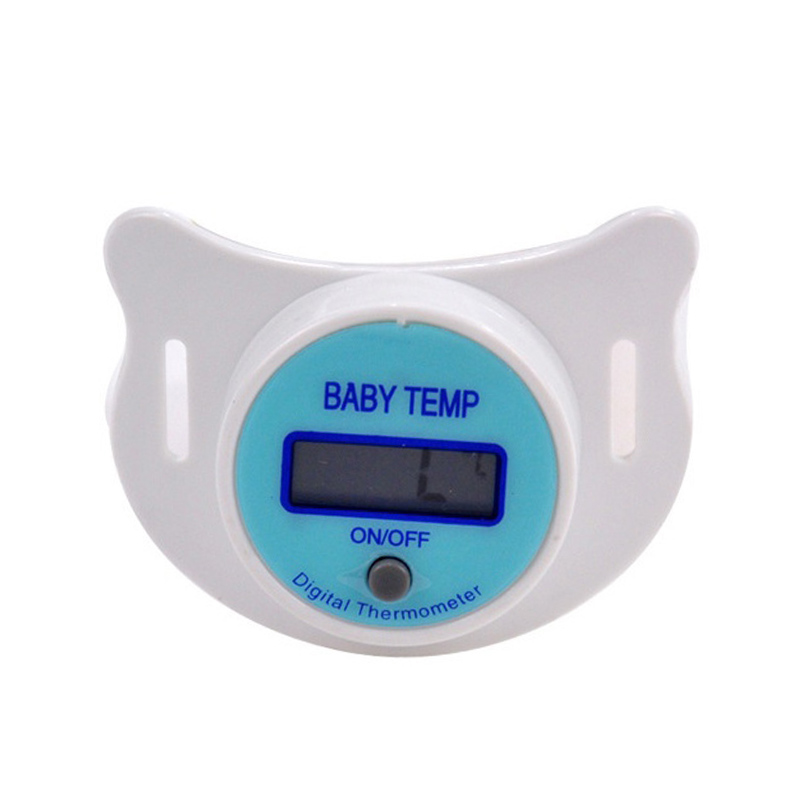 Soft Infant Baby Kid Nipple LCD Digital Mouth Pacifier Thermometer Children Health Safety Care 88 88 S7JN Соска