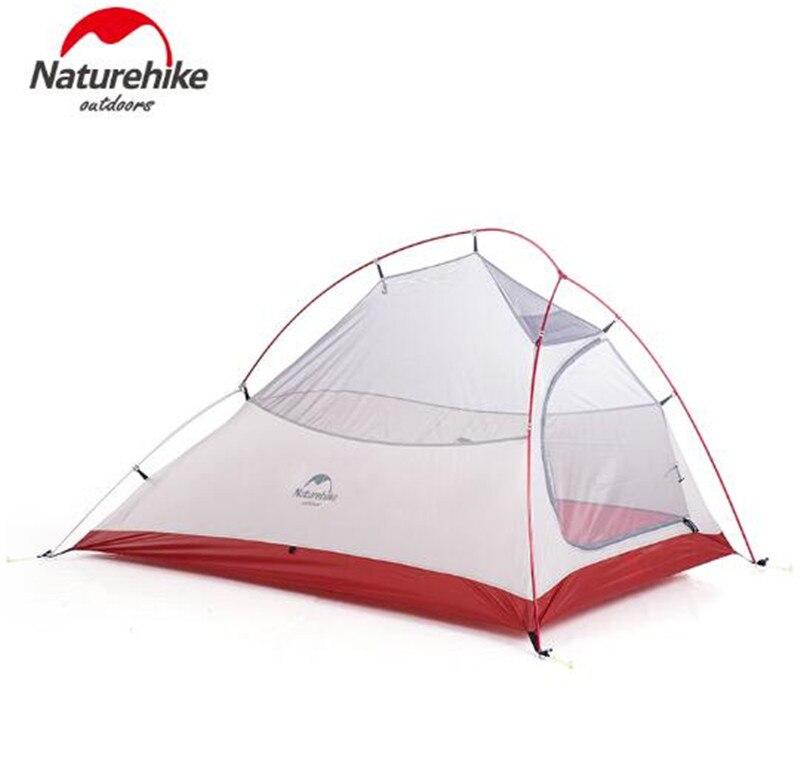 NatureHike Nuage Up 1 2 3 Personne Tente Ultra-Léger 20D Silicone Tissu Tentes tente de camping D'hiver En Plein Air tente de camping Avec Tapis - 4