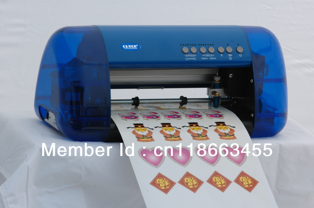 Red light positioning small thermal transfer die cutting ...