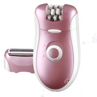 Kemei Rechargeable Hair Removal Epilator Trimmer Women Shaver Lady Epilator Wool Device For Bikini Underarm Body Face Care