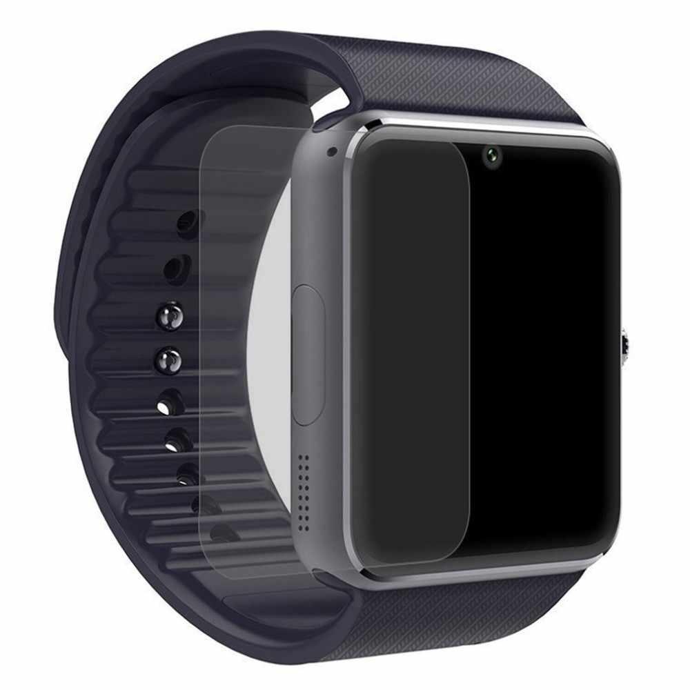 ساعة ذكية واقي للشاشة رقيقة جدا المضادة للخدش فيلم الجبهة واقية ل GT08 ساعة انخفاض الشحن