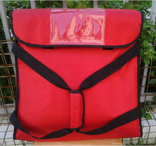 "47*47*20cm Pizza delivery bag for Four 18"" pizza boxes Pizza thermal insulation bag Pizza food Bag Take out food"