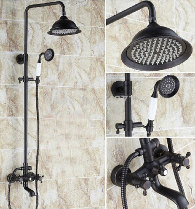 Wholesale And Retail Oil Rubbed Bronze 8 Rain Shower Head With ...