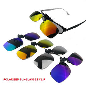 2d5ba3b8f9 Polarized Sunglasses Clip on Myopia Glasses For Fishing Driving Traveling Night  Vision