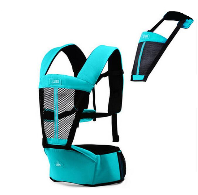 New Product Baby Sling Summer Breathable Waist Strap Belt Infant Baby Stool Multifunctional Double Shoulder Baby Bag