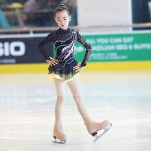 Ice Sating Dresses Adult Childrens Figure Skating Suit Artistic Gymnastics Uniform Dress Competition Skirt