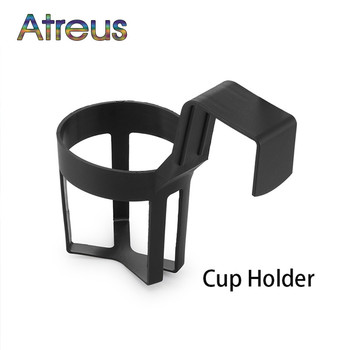 Water Cup Bottle Drink Hanging Holder Car-Styling For Abarth Fiat BMW E60 E36 E34 E90 F30 F10 F20 Mercedes Benz W203 W204 image