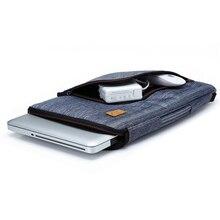 2016 Fashion Multi-functional Denim Laptop Sleeve Case Bag and Adjustable Shoulder Strap-For 13 Inch Notebook / MacBook