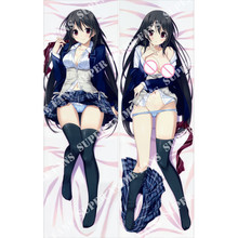 Japanese Anime HotchKiss Hugging Pillow Cover Case Pillowcase Decorative Pillows 2Way 50*160cm