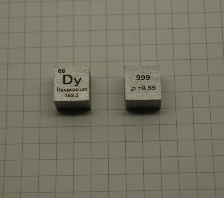 99.9% High Purity Dysprosium Dy 8.6g Carved Element Periodic Table 10mm Cube копилка филин 14см уп 1 36шт