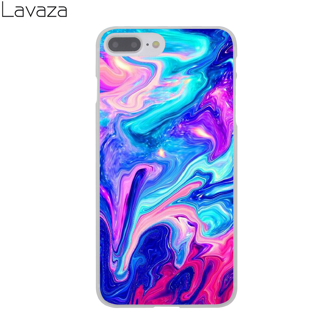 new products 383fe 54903 US $2.55 |Lavaza Abstract Rainbow Ripple Tie Dye art Hard Cover Case for  iPhone X XS Max XR 6 6S 7 8 Plus 5 5S SE 5C 4S 10 Phone Cases-in  Half-wrapped ...