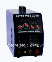 2015 Hot Sale Top Tig Welding Machine Wse200amp Ac/dc Tig Welder for Mma Welding Igbt Inverter Equipment