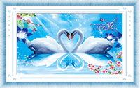 Needlework Home Decor 5D DIY Diamond Embroidery 5D Diamond Painting Diamonds Mosaic Swan Cross Stitch