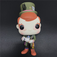 Exclusive Funkos Pop Limited Edition Figure Fundays Freddy Mad Hatter Vinyl Action Figure Collectible Model Toy NO BOX