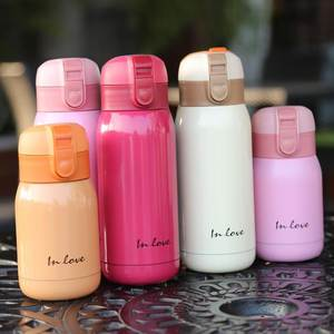 Mini Students Thermoses Insulated Tumbler 200ML 360ML Stainless Steel Thermos Vacuum Flask Cartoon Travel Mug Garrafa Termica