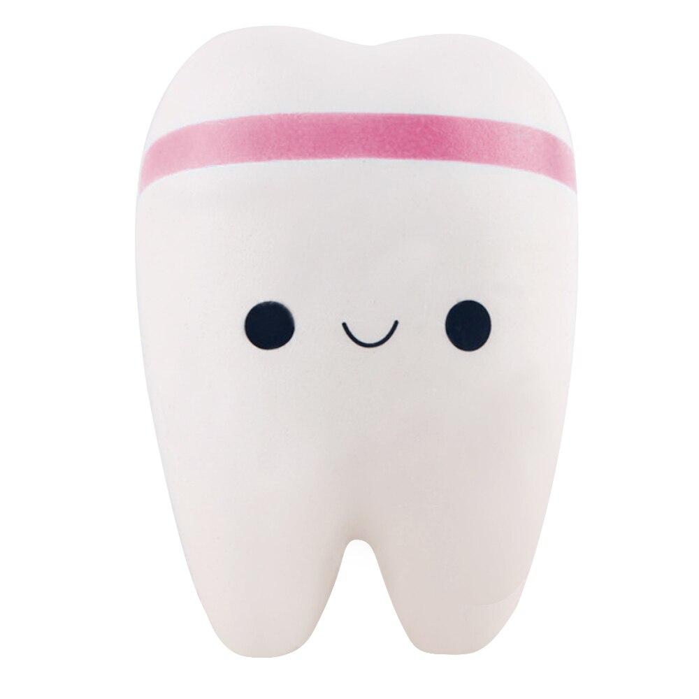 Beli Cute Pu Lembut Empuk Imitasi Berbentuk Gigi Menggantung Gantungan Kunci Liontin Untuk Casing Dompet Dompet Ponsel Dekorasi Pink
