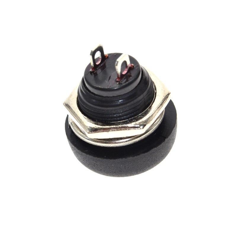 WAVGAT 6 шт. мини 12 мм водонепроницаемый мгновенный вкл/выкл кнопочный круглый переключатель PBS-33B