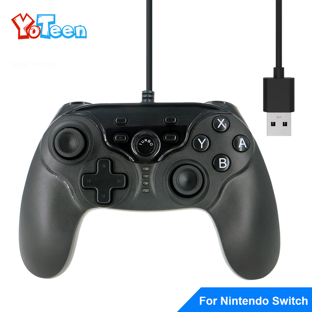 For Nintend Switch Joystick Professional Wired USB Gamepad Gaming ...