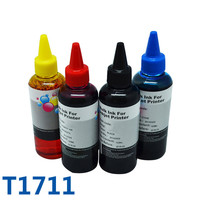 T1711 Refillable Cartridge Dye Refill Ink For Printer For Epson Expression Home XP 103/XP 203/XP 207/XP 313/XP 413 For Epson Ink