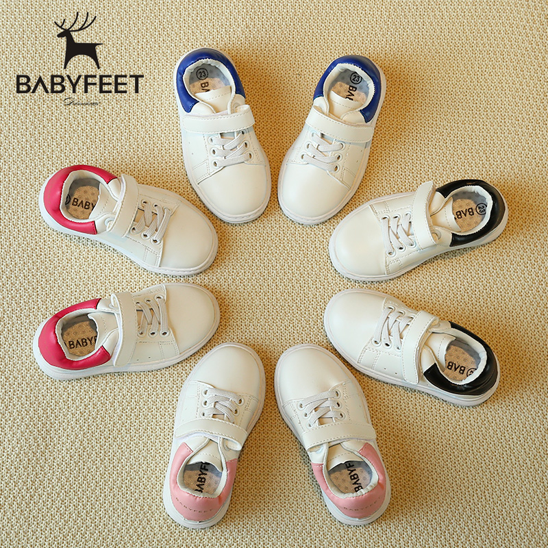 Brand babyfeet 1-7 Years old Children's shoes girl sports shoes baby Toddler fashion sneakers boy infant kids casual white shoes new babyfeet toddler infant first walkers baby boy girl shoe soft sole sneaker newborn prewalker shoes summer genuine leather