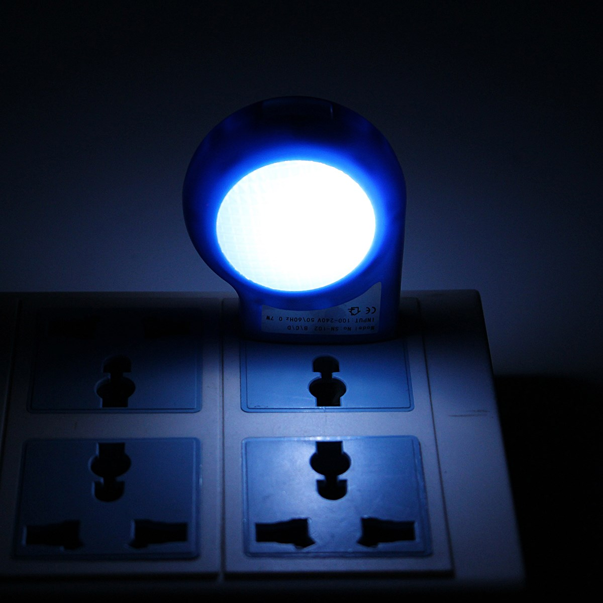 Mini 0.7W LED Night Light Lamp With Sensor Induction Control For ...