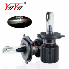 H4 H7 Led Fanless Car Headlight Bulbs 12V PSX24W PSX26W H13 9004 9007 Auto Light 6500K H8 H9 H11 8000Lm Led Fog Lamp Canbus Bulb