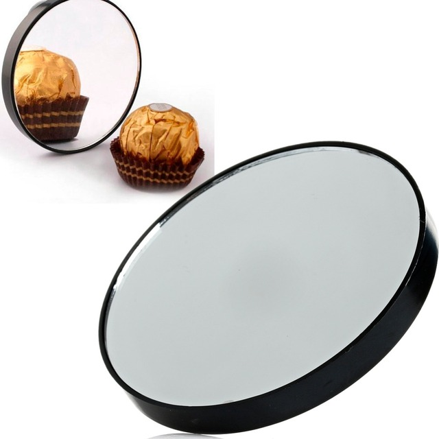 Magnifying Mirror 10x Suction Cup Makeup Compact Cosmetic Shave Travel