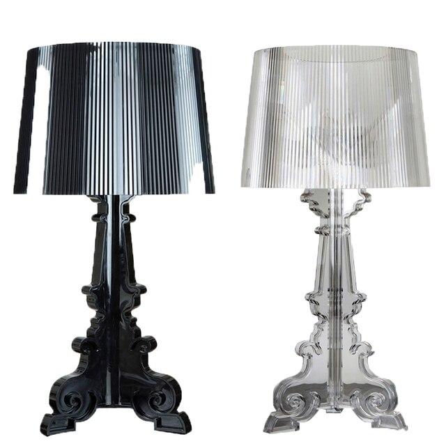 Table Lamp Led Bedlamp Bedroom Living Room Acryl Desk Bedside Shade Light Night Reading Home Abajur Lamparas De