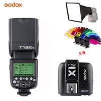 Godox TT685S 2 4G HSS 1/8000 s ich-TTL GN60 Drahtlose Speedlite Blitz + X1T-S Trigger für Sony A77II A7RII A7R A58 A9 A99 A6300 A6500