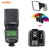 Godox TT685S 2.4G HSS 1/8000s i TTL GN60 Wireless Speedlite Flash+X1T S Trigger for Sony A77II A7RII A7R A58 A9 A99 A6300 A6500