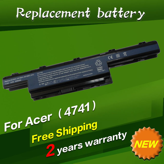 JIGU Аккумулятор для Acer eMachines D442 D640 D642 D730 D732 D732G E442 E443 E529 E640 E644G AS10D3E AS10D41 AS10D51 AS10D61 AS10D71