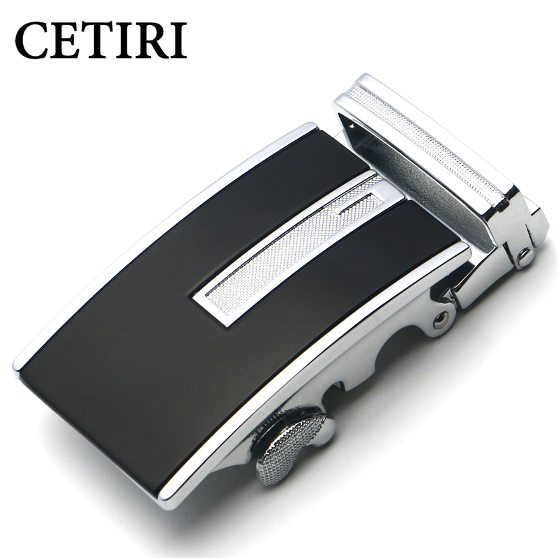 CETIRI Hot Sale Designers 3.5 Cm Metal Automatic Belt Buckle Business Male Alloy Buckle Belts For Men Hebilla Cinturon