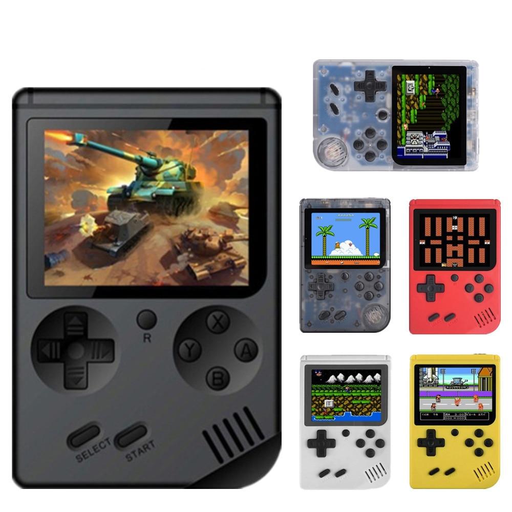 Das Beste Cooljier Video Spiel Konsole 8 Bit Retro Tasche Handheld-spiel-player Eingebaute 168 Klassische Spiele Kind Nostalgischen Spiel-player Unterhaltungselektronik