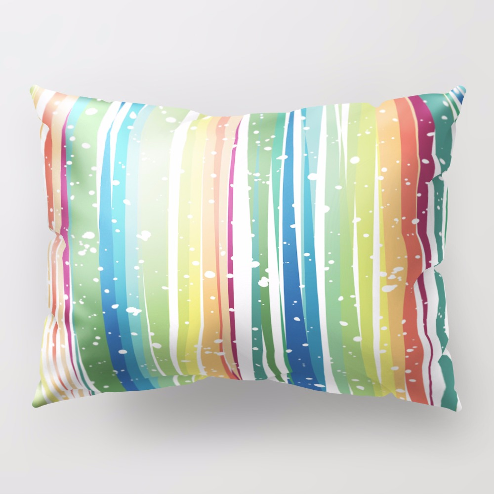 New Design Candy Color Pillow Case Home Bed Fruit Printing Pillowcases for Children Rectangle 30*50cm 18 Colors
