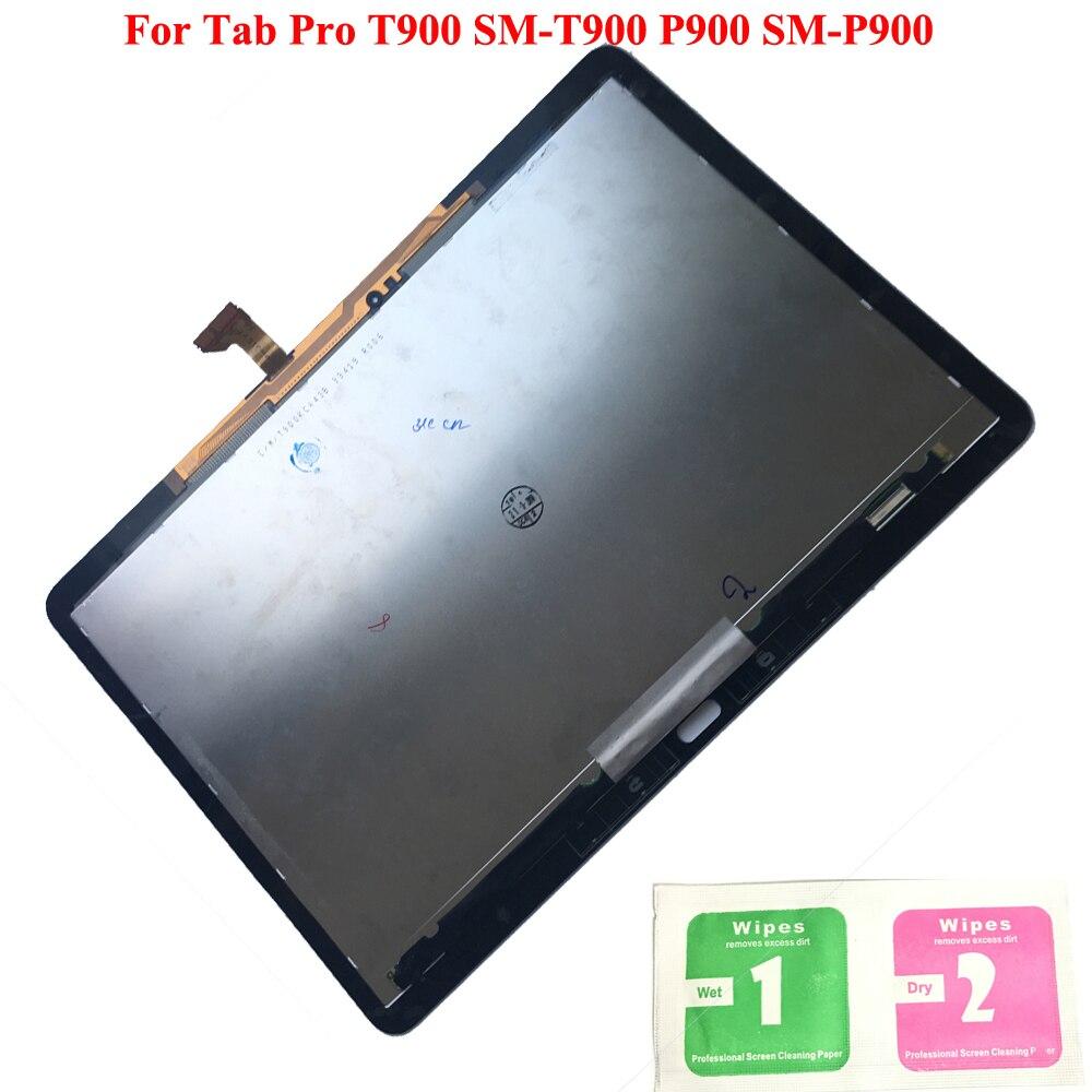100% LCD écran tactile numériseur capteurs assemblage panneau remplacement pour Samsung GALAXY Tab Pro T900 SM-T900