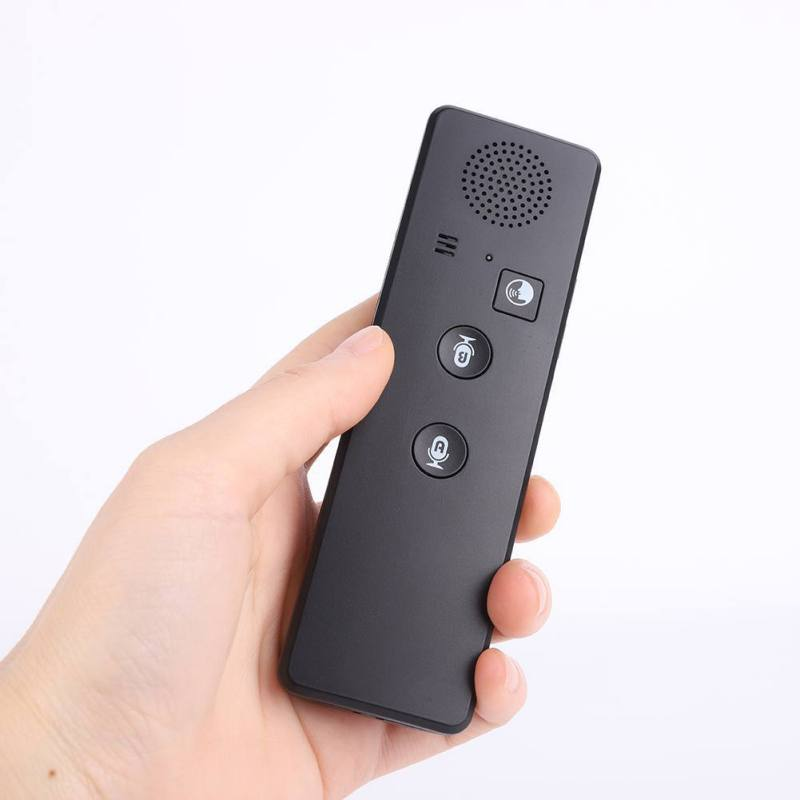 100% QualitäT Tragbare Intelligente Stimme Übersetzer Bluetooth 4,2 Echt Zeit Mehrsprachige Übersetzung Laut Sound Mit 3360 Mah Große Batterie Gutes Renommee Auf Der Ganzen Welt