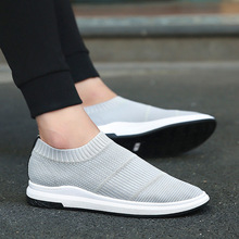2017 Spring and Autumn new males's canvas footwear 3 times vulcanized males's footwear small white footwear leisure