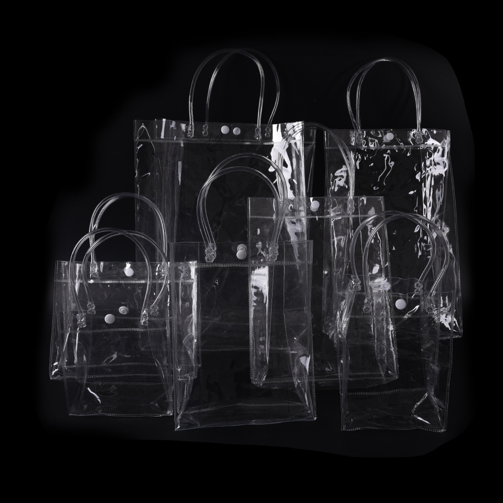 10Sizes Portable Clear Transparent Waterproof Plastic PVC Travel Cosmetic Bag Makeup Bags new high quality pvc transparent plastic large capacity handbag transparent waterproof black kraft paper travel shopping bag