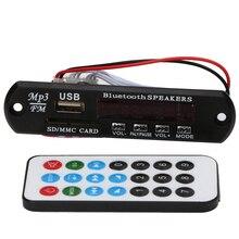 Bluetooth 3.0 аудио плеер модуль с Дистанционное управление USB SD FM MP3 аудио приемник WMA декодер доска Динамик декодер доска