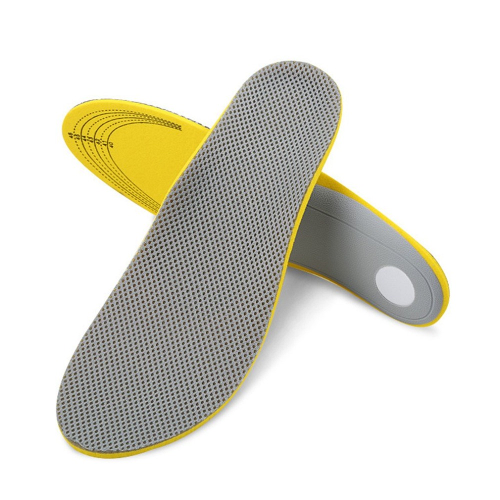 1 Pair Sports Shoes Insoles Orthotic Flat Foot Arch Support Cushion Breathable Shockproof Outdoor Activities Insoles hot