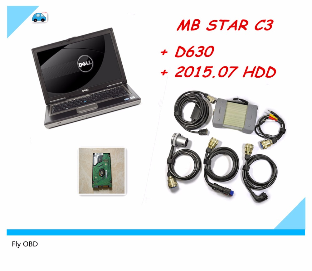 2016 top quality for mercedes benz diagnosis mb star c3 mb star c3 multiplexer scanner tool