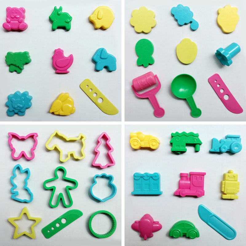 Slime Tools 36pcs/lot Playdough Model Tool Creative 3D Plasticine Tools Play dough Set Kit Childrens Gift Kids Toys ...