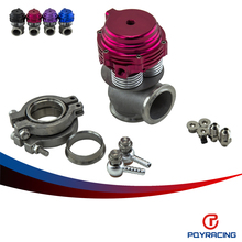 PQY RACING- External Wastegate, V-banded 38mm MVS-A, Includes V-band flanges and clamps 38MM WASTEGATE With TL logo  PQY5832
