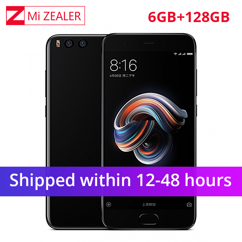Global ROM Xiaomi Mi Note 3 Mobile Phone 6GB RAM 128GB ROM Snapdragon 660 5.5″Four Side Curved Glass Dual Rear 12.0MP Camera